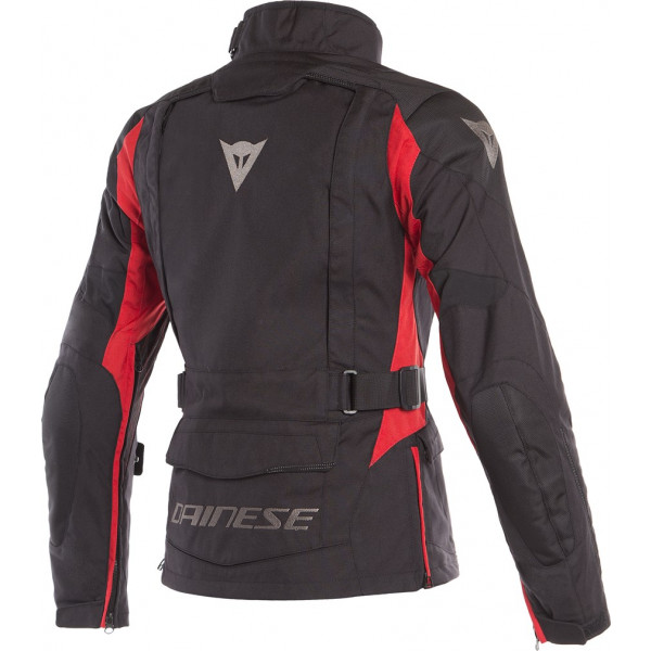 b82ccc1fb144 giacca moto donna touring dainese x-tourer lady d-dry 3 strati nero nero rosso2.jpg