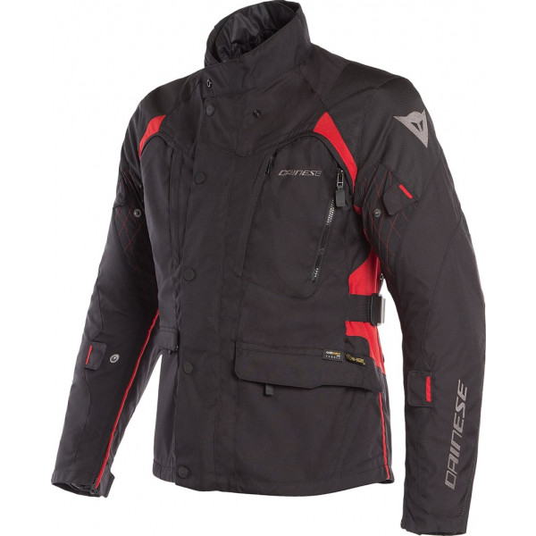DAINESE GIACCA TOURING X-TOURER D-DRY 3 STRATI NERO ROSSO