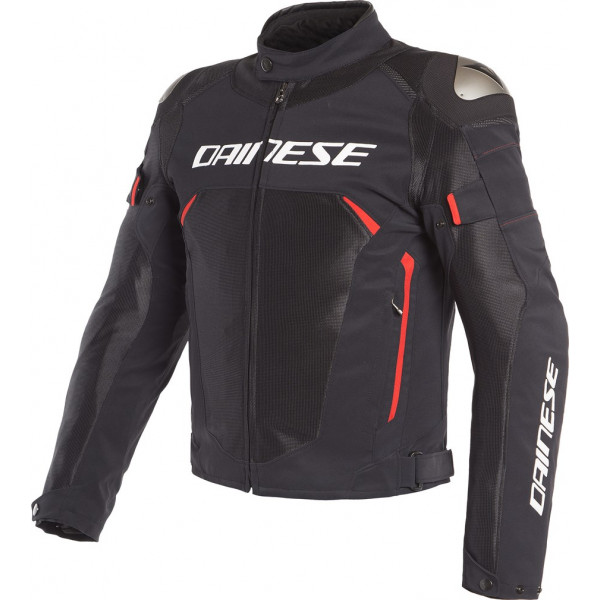 DAINESE GIACCA IN TESSUTO DINAMICA AIR D-DRY NERO ROSSO