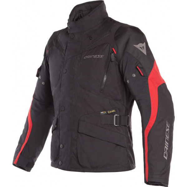 DAINESE GIACCA MOTO TEMPEST 2 D-DRY NERO ROSSO
