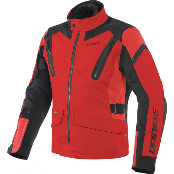 DAINESE GIACCA TOURING TONALE D-DRY ROSSO NERO